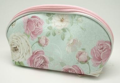 Floral Cosmetic Bag - Small