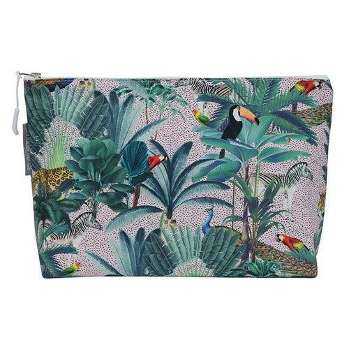 Cosmetic Bag – Large – Jungle Spot