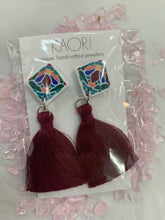 Load image into Gallery viewer, Polymer Tassel Earrings