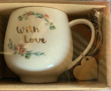 Load image into Gallery viewer, COFFEE CUP - WITH LOVE & LOVE YOU MUM