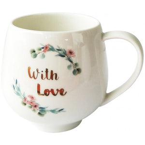 COFFEE CUP - WITH LOVE & LOVE YOU MUM