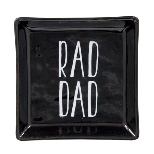 Dish – Rad Dad – Coin Tray