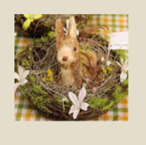 8CM - BUNNY IN A BASKET