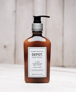 DEPOT MENS - NO. 604 MOISTURIZING HAND LOTION  . CITRUS & HERBS .