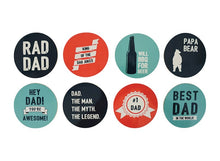 Load image into Gallery viewer, COASTER SET- BEST DAD