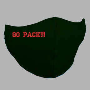 Black Mask with GO PACK!!! Embroidery