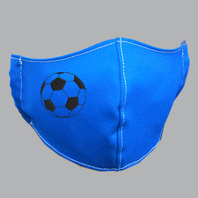 Royal Mask with Soccer ball