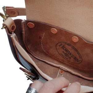 Horween Chromexcel Handmade Messenger Bag Saddle Bag
