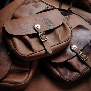 US Mail Vegetable Tanned Leather Retro Messenger Bag