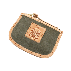 WWII US Army Canvas Duffle Bag Transform Coin Card Wallet