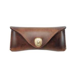 Horween Leather Vintage Glasses Case