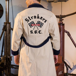 Old Era Embroidered Trench Coat