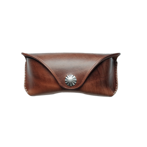 Horween Leather Glasses Case