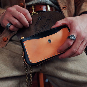 Horween Chromexcel Leather Rider Wallet