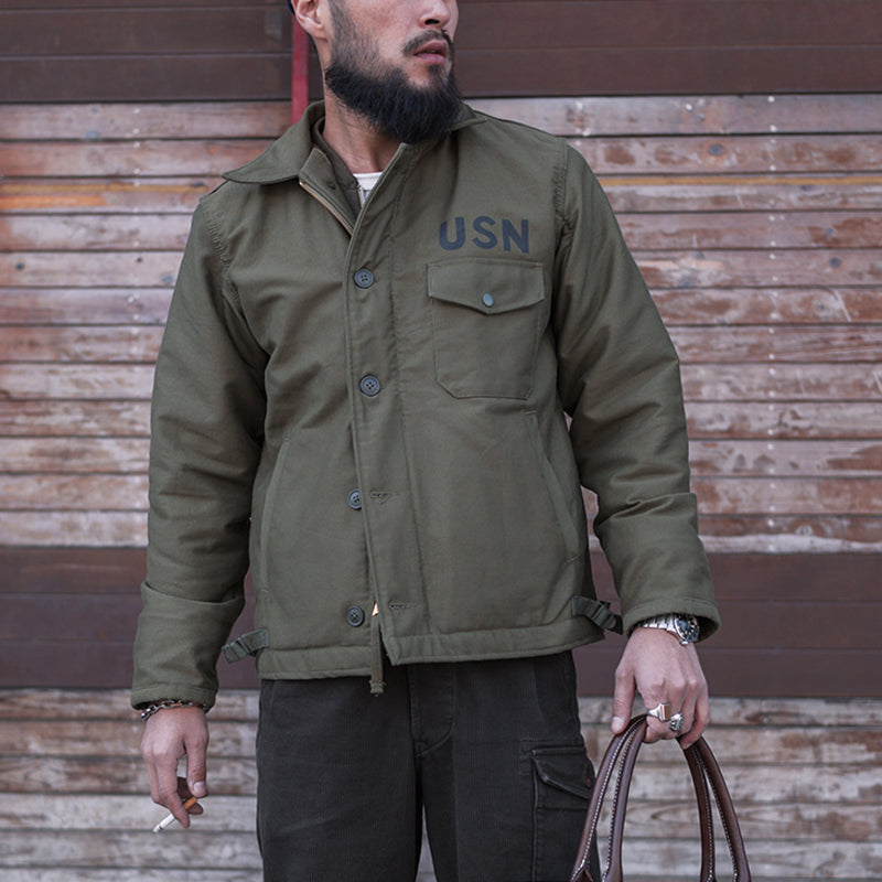 1963 Model USN A2 Deck Jacket