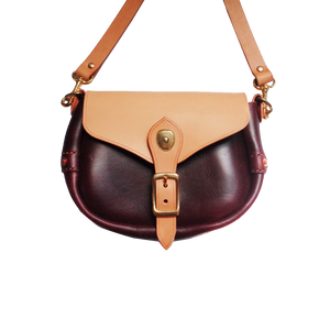 Horween Chromexcel Leather Saddle Bag