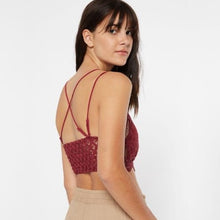 Load image into Gallery viewer, Blaire Bralette in Bold Burgundy