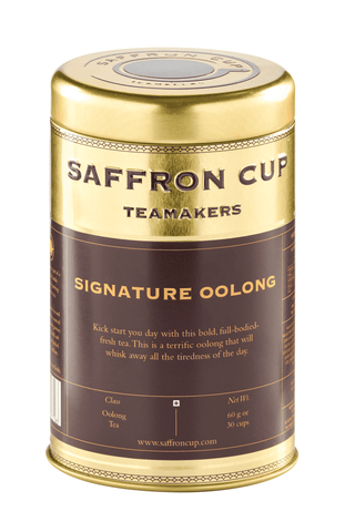 Signature Oolong Tea - saffroncup