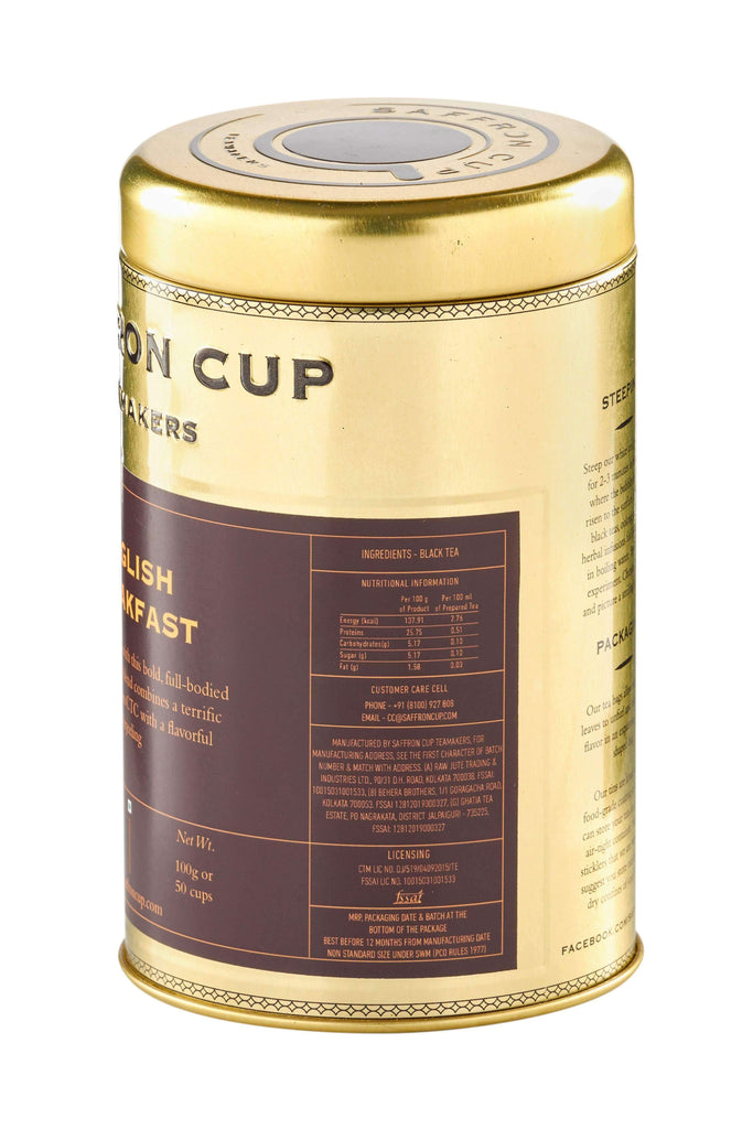 English Breakfast Tea - saffroncup1