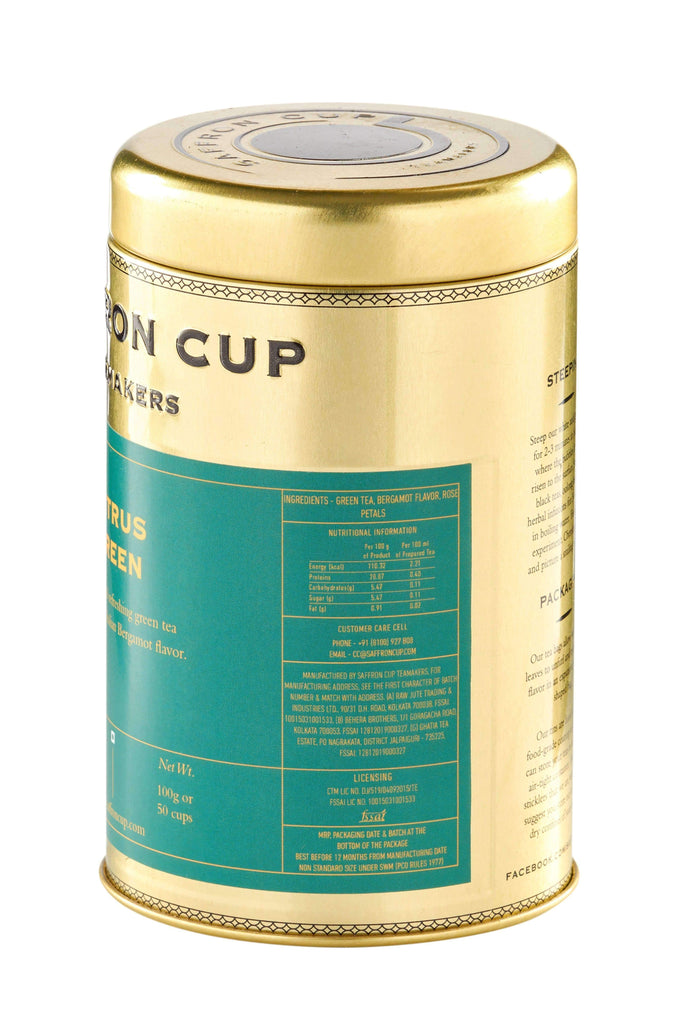 Citrus Green Tea - saffroncup1