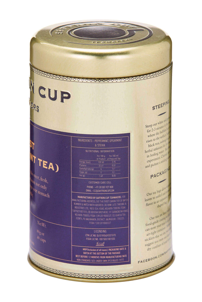 Digest (Peppermint Tea) - saffroncup