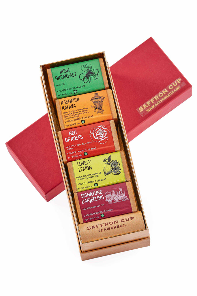 TEA BAG GIFT HAMPER - saffroncup1