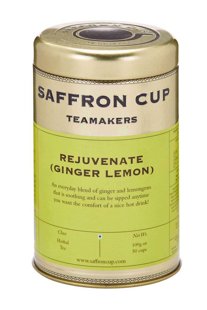 Rejuvenate (Ginger Lemon) Tea - saffroncup1