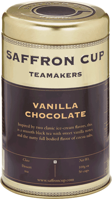 Vanilla Chocolate Tea - saffroncup1
