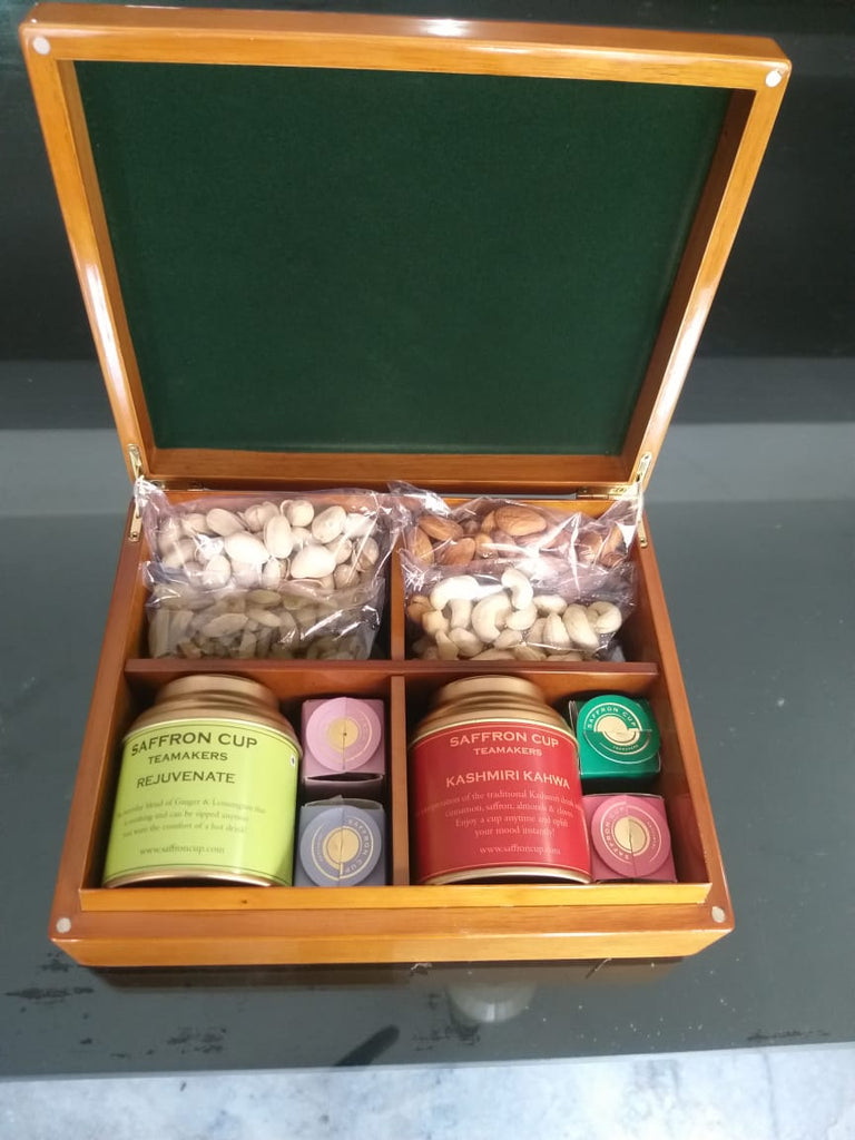 Wooden Box - saffroncup1