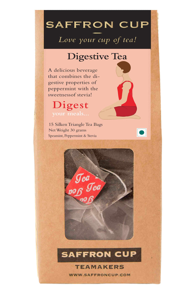 Digest (Peppermint Tea) Teabags - saffroncup1