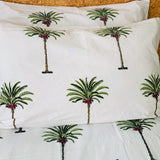 Palmiste block printed pillowcase