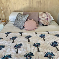 Sunshine Sky - one size - two looks - cotton padded quilt