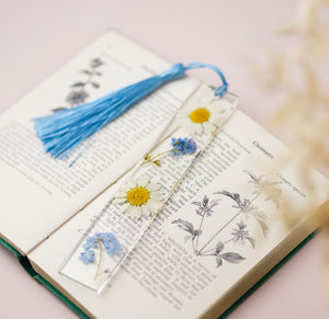 Daisy and Forget Me Not Bookmark