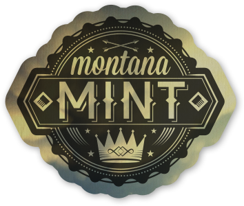 Montana Mint Sticker