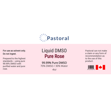 Load image into Gallery viewer, Pure Rose DMSO Liquid (4oz) - Pastoral Canada