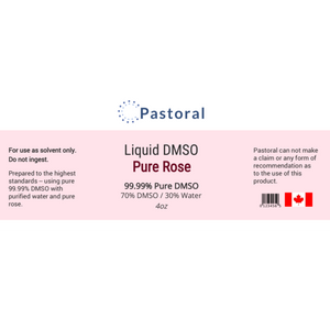 Pure Rose DMSO Liquid (4oz) - Pastoral Canada