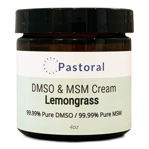 Lemongrass DMSO & MSM Cream (4oz) - Pastoral Canada