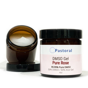 Pure Rose DMSO Gel (4oz) - Pastoral Canada