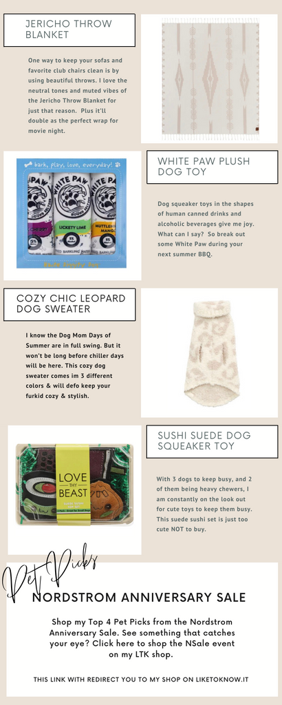 #NSALE 2021 Nordstrom Anniversary Sale Top Picks for pet accessories and toys, home and kitchen essentials