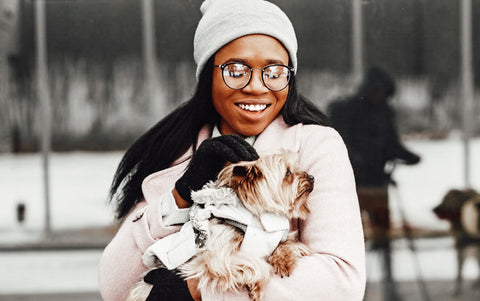 Black dog moms remain under represented within the pet community