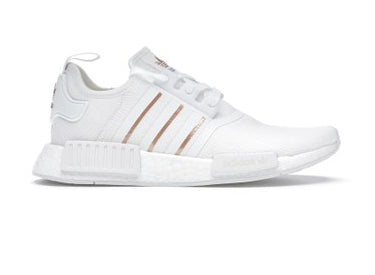 White Rose Gold Adidas NMD_R1