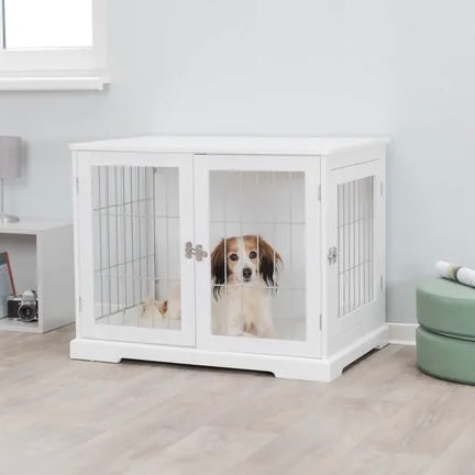 Goetz Wood And Wire Design Medium Dog Crate