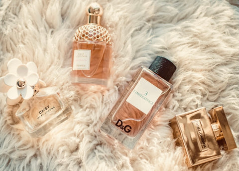 Select some fresh floral fragrances for spring and summer