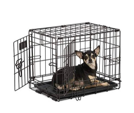 Crate training your dog properly can help to keep your pet safe after surgery.