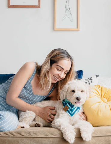 Dog moms passed the time in quarantine teaching their pets new tricks and having staycations.