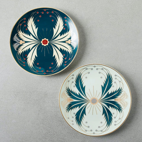 Stunning Isla Teal Plates from CB2.