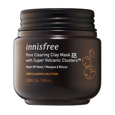 Innisfree Super Volcanic Clusters Pore Clearing Clay Mask