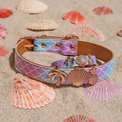 A FriendshipCollar summer fave: The Mermaid Tails and Shell charm combination