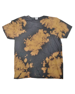 Tie-Dye Bleach Out T-Shirt - 1385