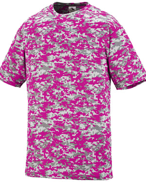 Augusta Sportswear Adult Digi Camo Wicking Short-Sleeve T-Shirt - 1798
